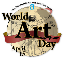 logo IAA World Art Day